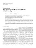 """Báo cáo hóa học: """" Research Article Edge-Detected Guided Morphological Filter for Image Sharpening"""""""