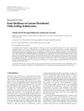"Báo cáo hóa học: ""Research Article Error Resilience in Current Distributed Video Coding Architectures"""