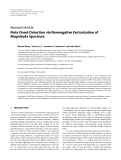 "Báo cáo hóa học: ""Research Article Note Onset Detection via Nonnegative Factorization of Magnitude Spectrum"""
