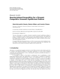 "Báo cáo hóa học: "" Research Article Quasivariational Inequalities for a Dynamic Competitive Economic Equilibrium Problem"""