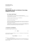"Báo cáo hóa học: "" Research Article Subordination Results on Subclasses Concerning Sakaguchi Functions"""