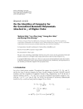"Báo cáo hóa học: ""  Research Article On the Identities of Symmetry for the Generalized Bernoulli Polynomials Attached to χ of Higher Order"""