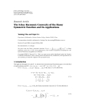 "Báo cáo hóa học: "" Research Article The Schur Harmonic Convexity of the Hamy Symmetric Function and Its Applications"""