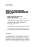 """Báo cáo hóa học: """" Research Article Existence of Solutions and Nonnegative Solutions for Prescribed Variable Exponent Mean Curvature Impulsive System Initialized Boundary Value Problems"""""""