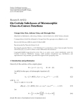 "Báo cáo hóa học: "" Research Article On Certain Subclasses of Meromorphic Close-to-Convex Functions"""