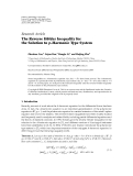 "Báo cáo hóa học: ""  Research Article ¨ The Reverse Holder Inequality for the Solution to p-Harmonic Type System"""