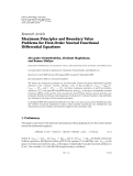 "Báo cáo hóa học: "" Research Article Maximum Principles and Boundary Value Problems for First-Order Neutral Functional Differential Equations"""