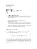 "Báo cáo hóa học: "" Research Article Ostrowski Type Inequalities for Higher-Order Derivatives"""