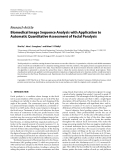 """Báo cáo hóa học: """"Research Article Biomedical Image Sequence Analysis with Application to Automatic Quantitative Assessment of Facial Paralysis"""""""