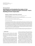 """Báo cáo hóa học: """" Research Article Quantification and Standardized Description of Color Vision Deficiency Caused by """""""