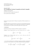"Báo cáo hóa học: "" Research Article New Strengthened Carleman's Inequality and Hardy's Inequality"""