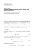 """Báo cáo hóa học: """"  Research Article Eigenvalue Problems for Systems of Nonlinear Boundary Value Problems on Time Scales"""""""