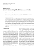 """Báo cáo hóa học: """" Research Article Linear Prediction Using Refined Autocorrelation Function"""""""