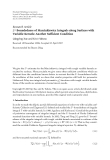 "Báo cáo hóa học: ""  Research Article L2 -Boundedness of Marcinkiewicz Integrals along Surfaces with Variable Kernels: Another Sufficient Condition"""