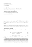 """Báo cáo hóa học: """" Research Article Extinction and Decay Estimates of Solutions for a Class of Porous Medium Equations"""""""
