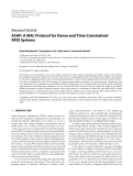 "Báo cáo hóa học: "" Research Article ASAP: A MAC Protocol for Dense and Time-Constrained RFID Systems"""
