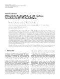 "Báo cáo hóa học: ""  Research Article Efficient Delay Tracking Methods with Sidelobes Cancellation for BOC-Modulated Signals"""