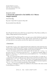 "Báo cáo hóa học: ""  Research Article A Fixed Point Approach to the Stability of a Volterra Integral Equation"""