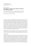 """Báo cáo hóa học: """"  Research Article Convergence of a Mimetic Finite Difference Method for Static Diffusion Equation"""""""