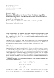 """Báo cáo hóa học: """" Research Article Existence of Solutions for Second-Order Nonlinear Impulsive Differential Equations with Periodic Boundary Value Conditions"""""""