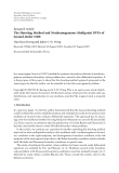 "Báo cáo hóa học: "" Research Article The Shooting Method and Nonhomogeneous Multipoint BVPs of Second-Order ODE"""