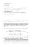 "Báo cáo hóa học: "" Research Article Simultaneous versus Nonsimultaneous Blowup for a System of Heat Equations Coupled Boundary Flux"""