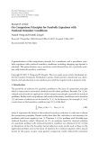 """Báo cáo hóa học: """"  Research Article On Comparison Principles for Parabolic Equations with Nonlocal Boundary Conditions"""""""