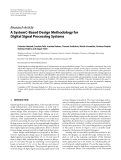 """Báo cáo hóa học: """" Research Article A SystemC-Based Design Methodology for Digital Signal Processing Systems"""""""