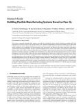 "Báo cáo hóa học: ""  Research Article Building Flexible Manufacturing Systems Based on Peer-Its"""