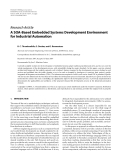 "Báo cáo hóa học: ""  Research Article A SOA-Based Embedded Systems Development Environment for Industrial Automation"""