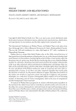 """Báo cáo hóa học: """"Editorial NIELSEN THEORY AND RELATED TOPICS"""""""