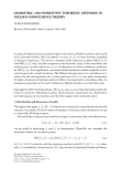 """Báo cáo hóa học: """"GEOMETRIC AND HOMOTOPY THEORETIC METHODS IN NIELSEN COINCIDENCE THEORY"""""""