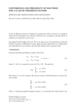 """Báo cáo hóa học: """"CONVERGENCE AND PERIODICITY OF SOLUTIONS FOR A CLASS OF DIFFERENCE SYSTEMS"""""""