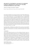 """Báo cáo hóa học: """"RELIABILITY OF DIFFERENCE ANALOGUES TO PRESERVE STABILITY PROPERTIES OF STOCHASTIC VOLTERRA INTEGRO-DIFFERENTIAL EQUATIONS"""""""