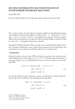 """Báo cáo hóa học: """"MULTIPLE NONNEGATIVE SOLUTIONS FOR BVPs OF FOURTH-ORDER DIFFERENCE EQUATIONS"""""""