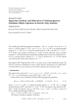 """Báo cáo hóa học: """" Research Article Eigenvalue Problems and Bifurcation of Nonhomogeneous Semilinear Elliptic Equations in Exterior Strip Domains"""""""