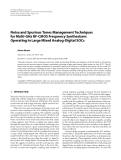 "Báo cáo hóa học: ""  Noise and Spurious Tones Management Techniques for Multi-GHz RF-CMOS Frequency Synthesizers Operating in Large Mixed Analog-Digital SOCs"""
