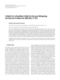 "Báo cáo hóa học: "" CSMA/CCA: A Modified CSMA/CA Protocol Mitigating the Fairness Problem for IEEE 802.11 DCF"""
