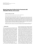 """Báo cáo hóa học: """"  Mutual Image-Based Authentication Framework with JPEG2000 in Wireless Environment"""""""