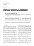 """Báo cáo hóa học: """"  Research Article Automatic Generation of Spatial and Temporal Memory Architectures for Embedded Video Processing Systems"""""""