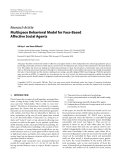 "Báo cáo hóa học: ""  Research Article Multispace Behavioral Model for Face-Based Affective Social Agents"""