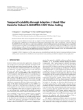 """Báo cáo hóa học: """" Temporal Scalability through Adaptive M-Band Filter Banks for Robust H.264/MPEG-4 AVC Video Coding"""""""