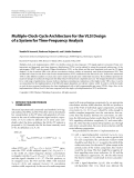 "Báo cáo hóa học: ""  Multiple-Clock-Cycle Architecture for the VLSI Design of a System for Time-Frequency Analysis"""