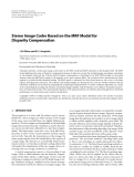 """Báo cáo hóa học: """" Stereo Image Coder Based on the MRF Model for Disparity Compensation"""""""