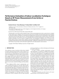 "Báo cáo hóa học: ""  Performance Evaluation of Indoor Localization Techniques Based on RF Power Measurements from Active or Passive Devices"""