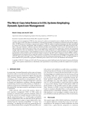 """Báo cáo hóa học: """" The Worst-Case Interference in DSL Systems Employing Dynamic Spectrum Management"""""""