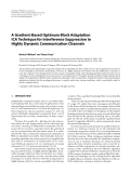 "Báo cáo hóa học: "" A Gradient-Based Optimum Block Adaptation ICA Technique for Interference Suppression in Highly Dynamic Communication Channels"""