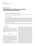"""Báo cáo hóa học: """" Research Article Exploiting Narrowband Efficiency for Broadband Convolutive Blind Source Separation"""""""