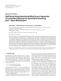 "Báo cáo hóa học: ""Research Article MAP-Based Underdetermined Blind Source Separation of Convolutive Mixtures by """