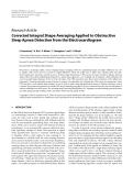 "Báo cáo hóa học: ""Research Article Corrected Integral Shape Averaging Applied to Obstructive Sleep Apnea Detection from the Electrocardiogram"""